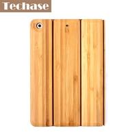 Techase Tablet Cover For IPad Mini 3 Case Bamboo Protective Hard Back Cover For IPad Mini