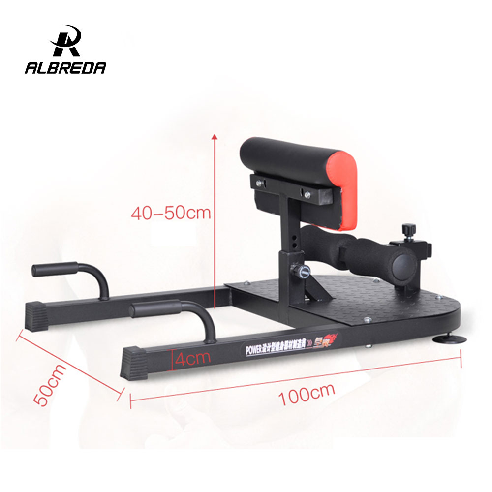 215e01cf30b730 ALBREDA Multifunctional body building equipment Sit up board device Waist  training Hips and squatting trainer for home sports-in Sit Up Benches from  Sports ...