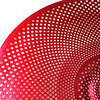 "Aborea - Red Color Low volume cymbal set - 14""hihat+16""crash+18""crash+20""ride 3"