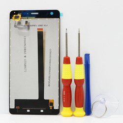 New original Touch Screen LCD Display LCD Screen For Ulefone  Power Power 1 Replacement Parts + Disassemble Tool+3M Adhesive