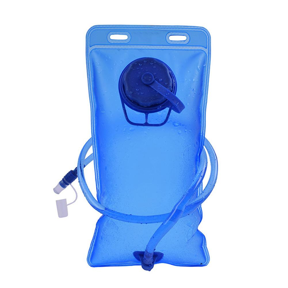 Portable 2L PEVA Water Bladder Backpack Hydration System