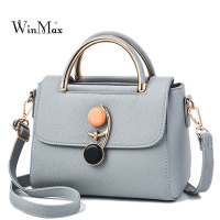 New Small Lock Women Handbags PU Leather Summer Women Crossbody Bags Quality Shoulder Bag Ladies Sac