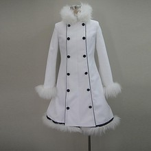 Vocaloid Hatsune Miku Winter Overcoat Cosplay Costume