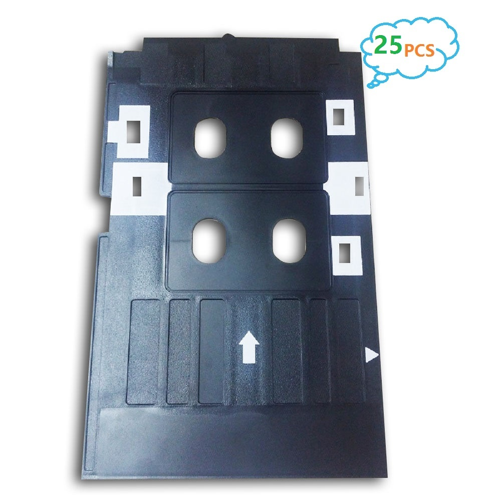 Printer Parts Ink Way 25pcs Pvc Id Card Tray For R260 R265 R270 R280 R290 R380 R390 Rx680 T50 T60 A50 P50 L800 L801 R330 Printer Supplies