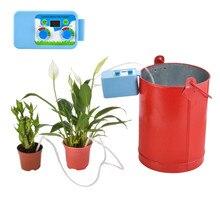 Светодиодный удобный Micro автополивом набор цветы полива растений таймер электронный контроллер сад воды, таймер Офис