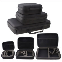 Portable Travelling Storage Camera Bag For Gopro Case for Xiaomi Yi Action