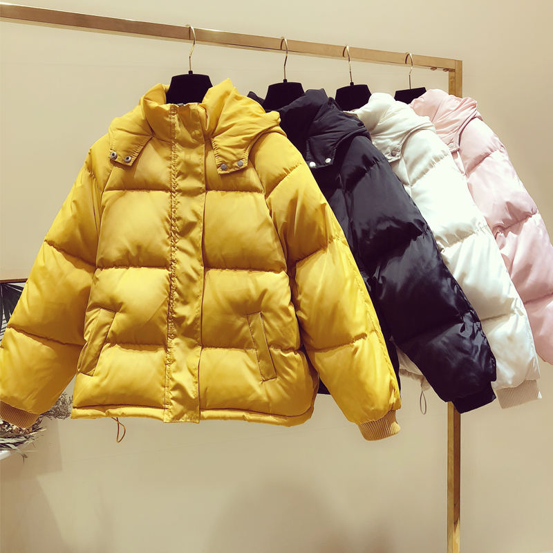 Winter Down Cotton Jacket Women   Parka   Warm Thick Abrigo Mujer Coat Women Outerwear Plus Size Down Jacket Woman Hooded Coat Q916