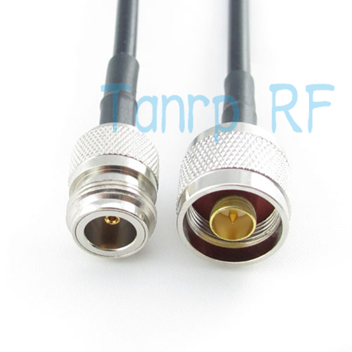 Freeshipping!  6FEET RF Pigtail coaxial  jumper cable  N female jack to N male plug RG58 cable 200CM Wholesale Promotion dhl ems 5 sets cable n male plug to n female jack straight ksr195 jumper pigtail 9m h2