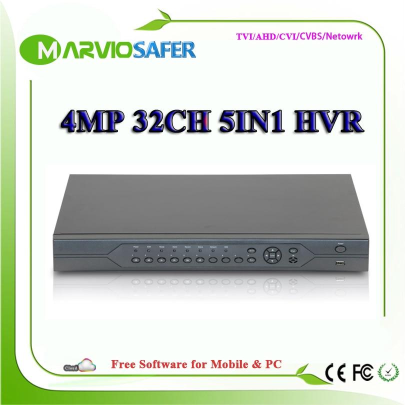 32ch 32 channel AHD TVI CVI DVR AVR XVR XVI HVR AHD-H 4MP Full HD Video Recorder 1080P 4K HDMI CCTV AHD TVI CVI Camera Recorder 1ch 1080p full hd tvi ahd cctv home office mini dvr sd card video recorder