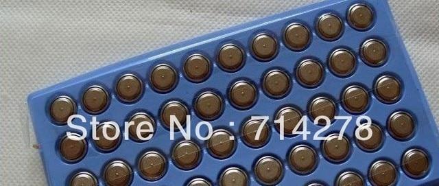 500pcs   Free shippingAG10 LR1130 389A LR54 L1131 189 Alkaline Battery V10GA 389+Singapore Post air mail