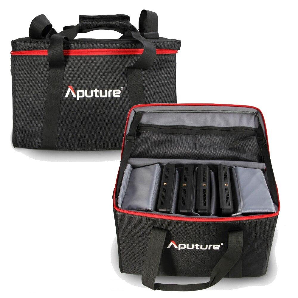 bilder für Neue Große Tasche für Aputure Amaran 4 stücke AL-528W AL-528S AL-528S Led-videoleuchte Panels Kit