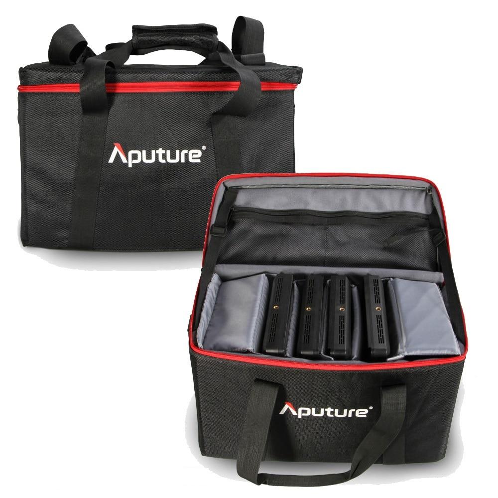 New Big Bag for Aputure Amaran 4pcs AL-528W AL-528S AL-528S Led Video Light Panels Kit