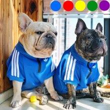 Dog Clothes Adidog French Bulldog Shirt Dog Sweater Sport Retro Chihuahua Cat Shirt Pet Clothes Ropa Perro Puppy Dog Pugs oem adidog