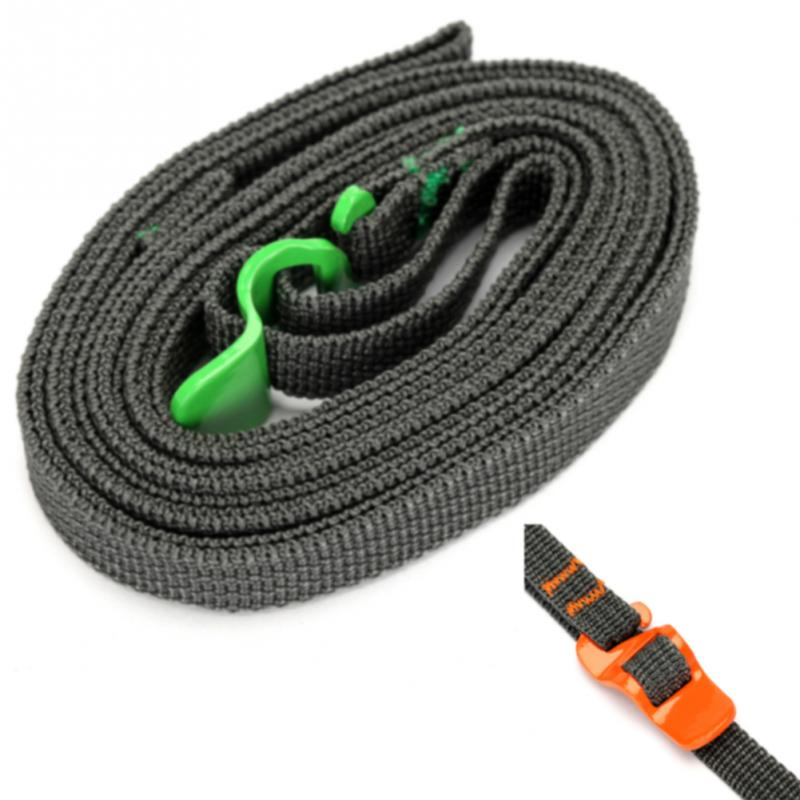 250CM Load 125kg Durable Nylon Cargo Tie Down Luggage Lash Belt Strap with Cam Buckle Travel Kits Outdoor Camping luggage strap