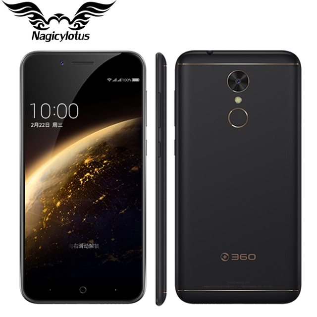 "New Original 360 N5 4G LTE Mobile Phone 6GB RAM 32GB ROM 5.5"" Snapdragon 653 Octa Core Android 6.0 Fingerprint 4000mAh phone"
