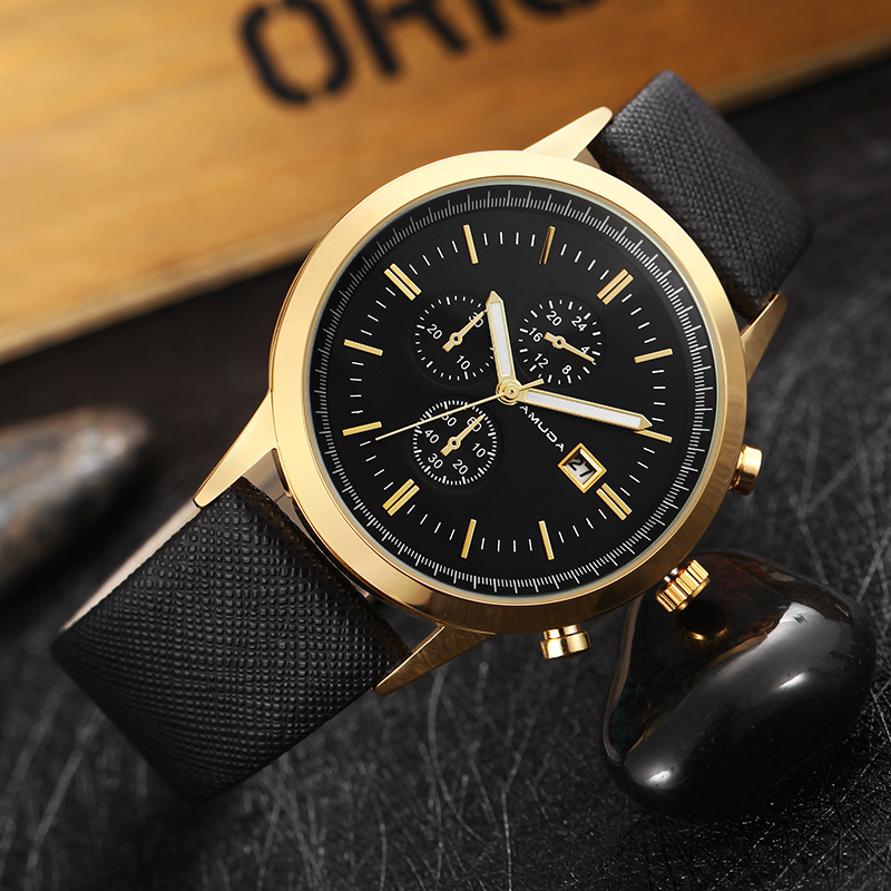 2018 Men Watch Mens Top Luxury Brand Leather Strap Casual Quartz Sports Waterproof Watches Wristwatches Relogio Masculino kezzi men watches sports waterproof quartz watch luxury brands leather strap watches wristwatches relogio masculino relojes