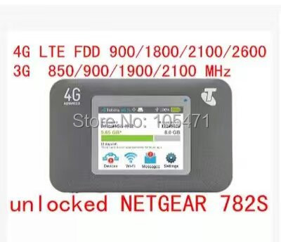Débloqué AirCard 782 S lte 4g routeur sans fil 4g wifi dongle 5 ghz wifi gps voiture routeur mifi Hotspot poche pk 760 s 762 s 790 s 763 s