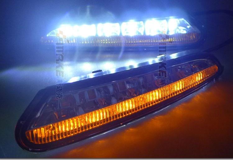 СИД DRL дневного света для 2012-13 бис Опель мокка с желтый мерцания сигнала поворота и функцией переключения быстрый корабль