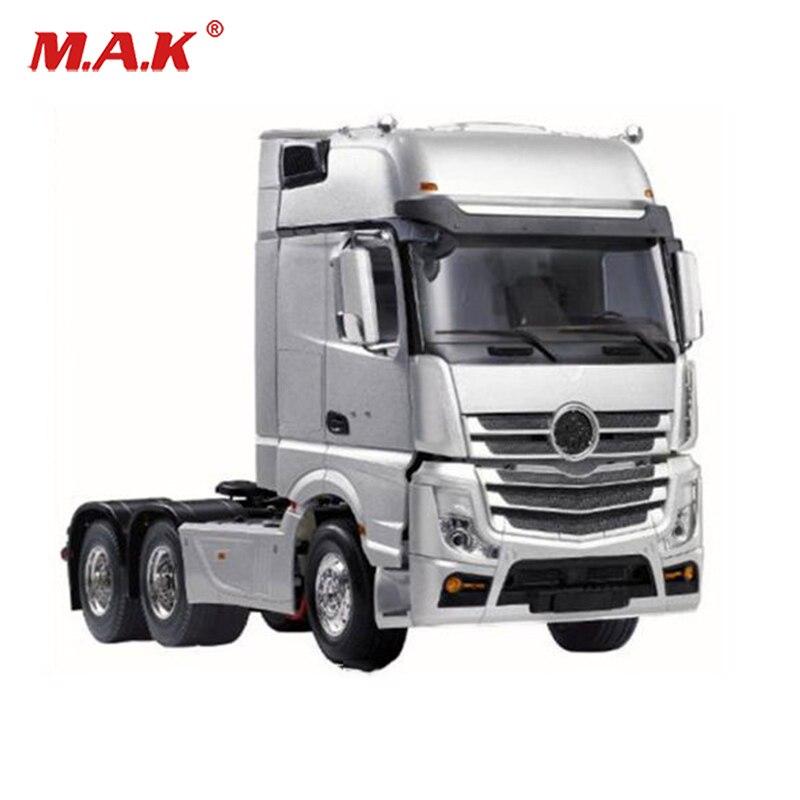 RC Velocidade 3 Tiaxial TRAILER Hauler Carro Montagem 1/14 Cabeça para 1:14 RC Caminhão Trator Reboque De Controle Remoto #140401 hot Toys 1:6