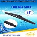 """Escovas Para KIA SOUL (2008-) 2009 2010 2011 2012 2013 2014 2015 Traseira Do Carro Windscreen Windshield Wiper Blade 11 """"carros estilo"""
