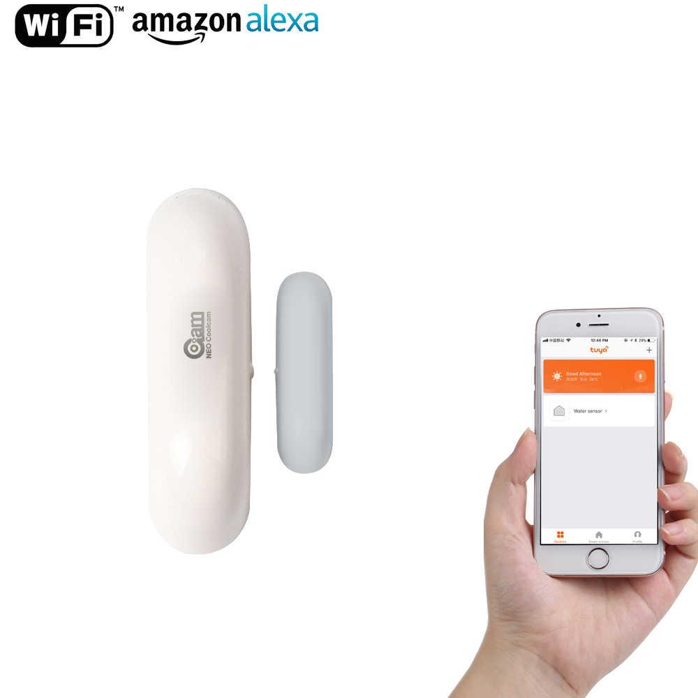NEO COOLCAM Smart WiFi Door/Windoor Sensor,Smart Home Automation Sensor,No Expensive Hub Required, Simple Plug & Play