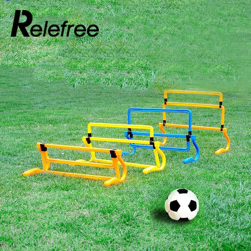 Relefree Hot Removeable Football Training Sports Tool Mini Hurdle Jump Sensitive Soccer Speed Agility Useful цена