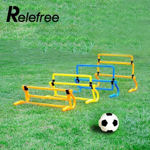 Relefree Hot Removeable Football Training Sports Tool Mini Hurdle Jump  Sensitive Soccer Speed Agility Useful 024ac192e