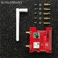 De longa distância sem fio 433/868/915 Mhz GPS e Mapa D'extension Lora para Raspberry Pi