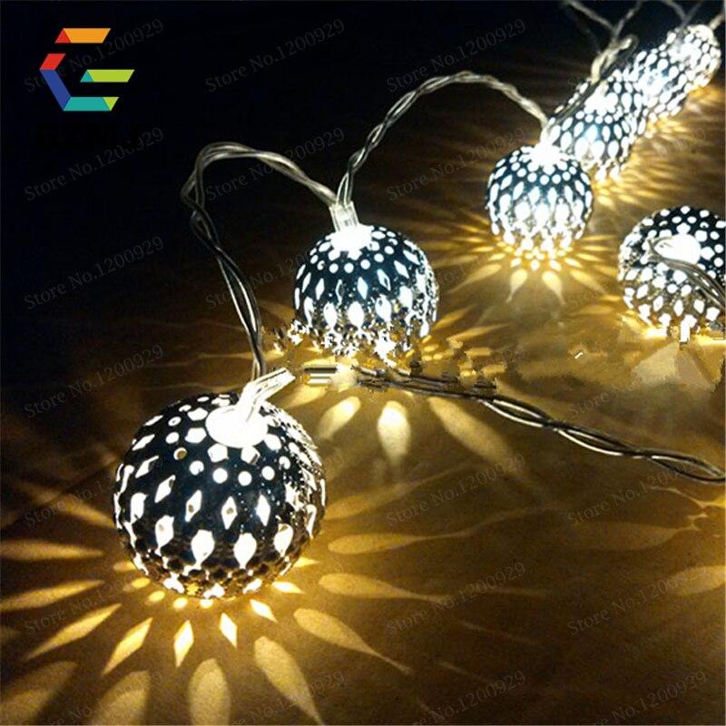 Us 11 99 40 Off Led Beleuchtung Batteriebetriebene Led Lichterketten Fur Weihnachten Garland Partei Hochzeit Dekoration Weihnachten Lichterkette In
