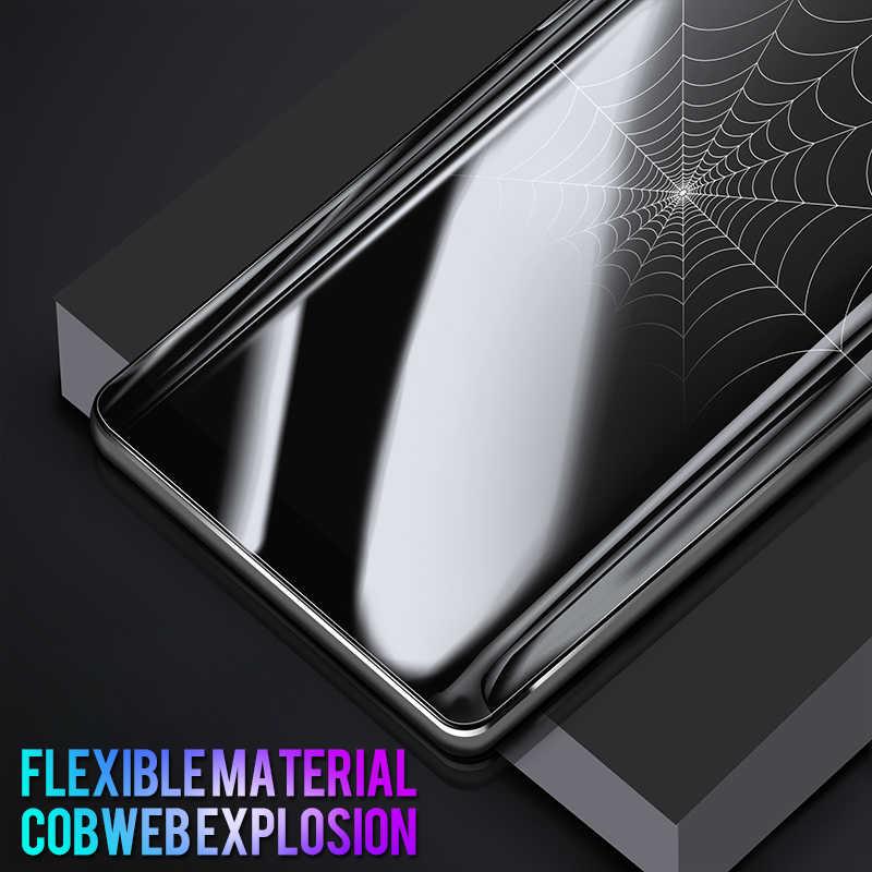 3 قطعة/الوحدة 3D لينة فيلم PET لسامسونج غالاكسي S9 S8 زائد S7 S6 حافة ملاحظة 8 9 واقي للشاشة واقية لا الزجاج المقسى