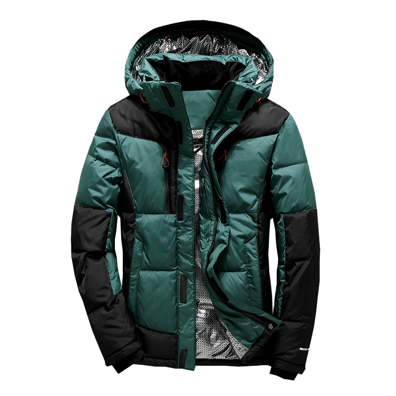 Men thick winter Duck   Down   Parkas Men snow Outwear   Down   Jackets Male Thick   Down     Coat   Fashion Puffer Waterproof Jacket
