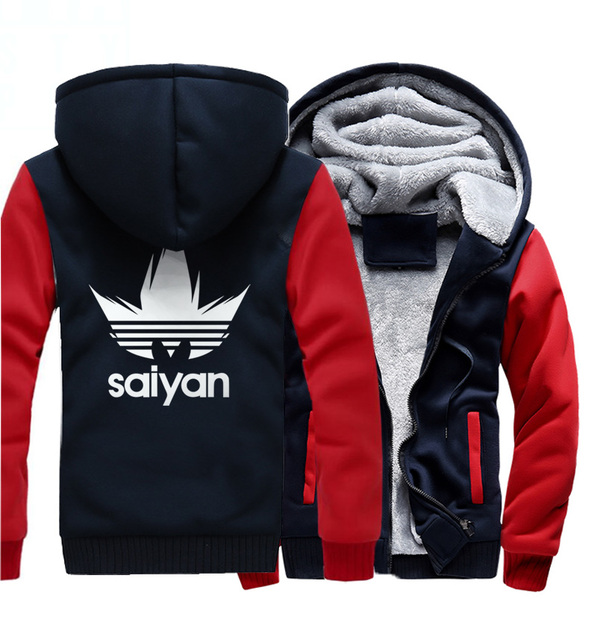 Dragon Ball Z Saiyan Winter Hoodie