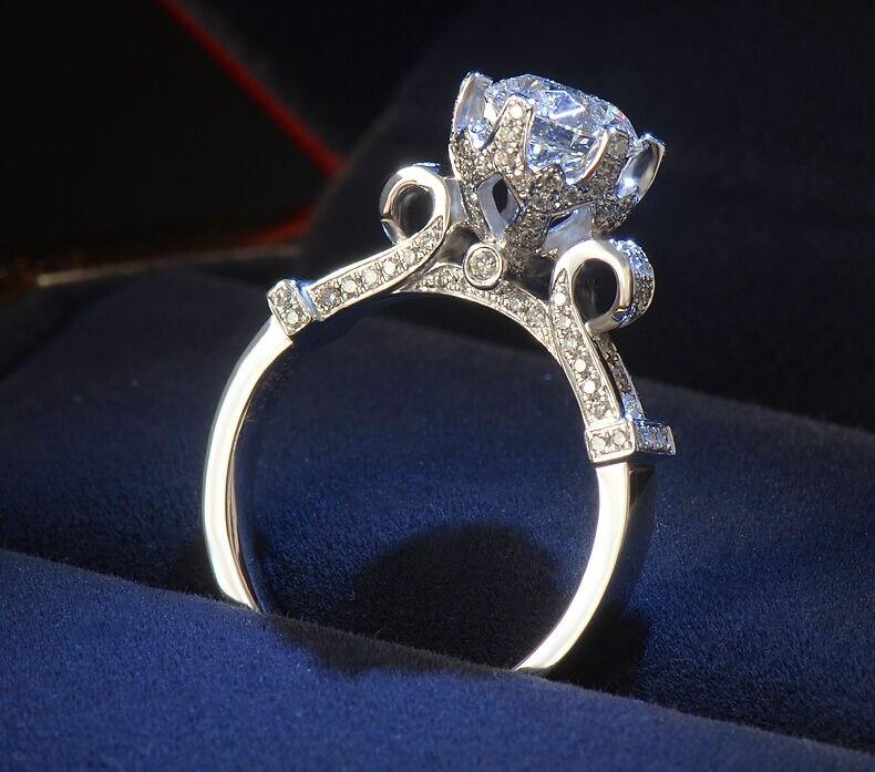choucong Veličina 4-10 jedinstveni Desgin Luksuzni nakit 925 srebra - Fine nakit
