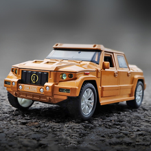 1:32 Scale Kombat Off Road SUV Car Model Diecast Vehicle Tos Simulation Bulletproof Car Alloy Auto Educational Model Toy For Boy 1 43 a3 sportback suv high end metal model car diecast vehicle parts van several colors