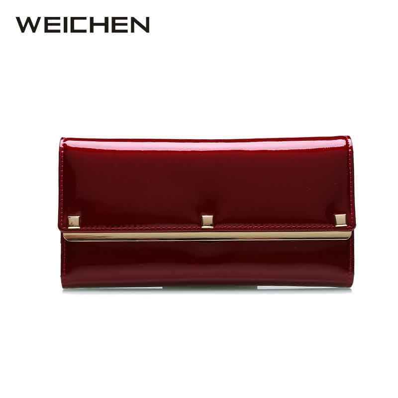 WEICHEN 2017 New Design Fashion Multifunctional Purse Genuine Leather font b Wallet b font font b