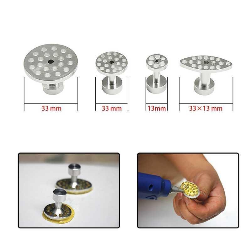 Kit Remoção Dent Reparação Dent Extrator Martelo Deslizante Paintless Dent Bastões de Cola Reversa Martelo Cola Tabs Para Danos Causados Por Granizo