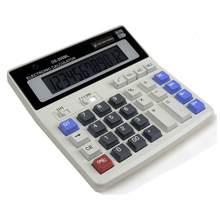 BIG New Office calculator Large computer keys DS-200ML PLUS Office Large Computer Keys Solar Calculator