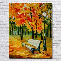 Chinese Oil Painting Hand Painted Scenery Wall Pictures for Living Room Decor Palette Knife Painting no Framed Big Size