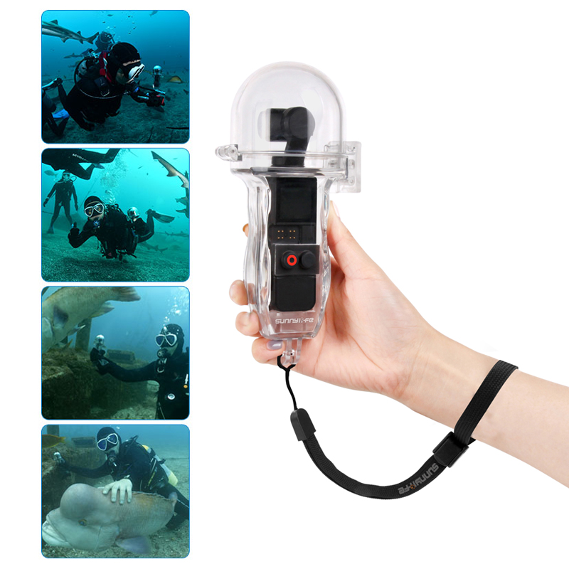 DJI Osmo Pocket Gimbal 60 Meters Waterproof Diving Case Housing Shell Cover Handheld Camera Case DJI