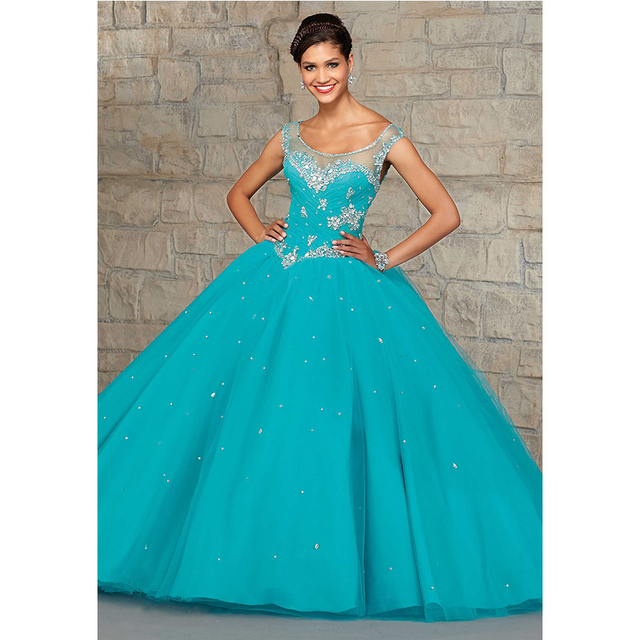 Popular Teal Quinceanera Dresses-Buy Cheap Teal Quinceanera ...