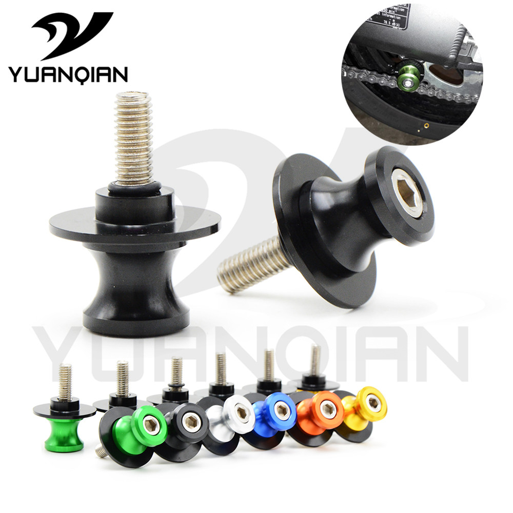 CNC Universal Motorcycle moto Stands Screws Swingarm Spools Slider M6 M8 M10 FOR SUZUKI SV650/S for Benelli BJ /BN600 300