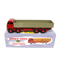 dinky toys diecast 1:43 alloy truck model 901 atlas foden diesel 8 wheel wagon truck toy for collection model,children gift