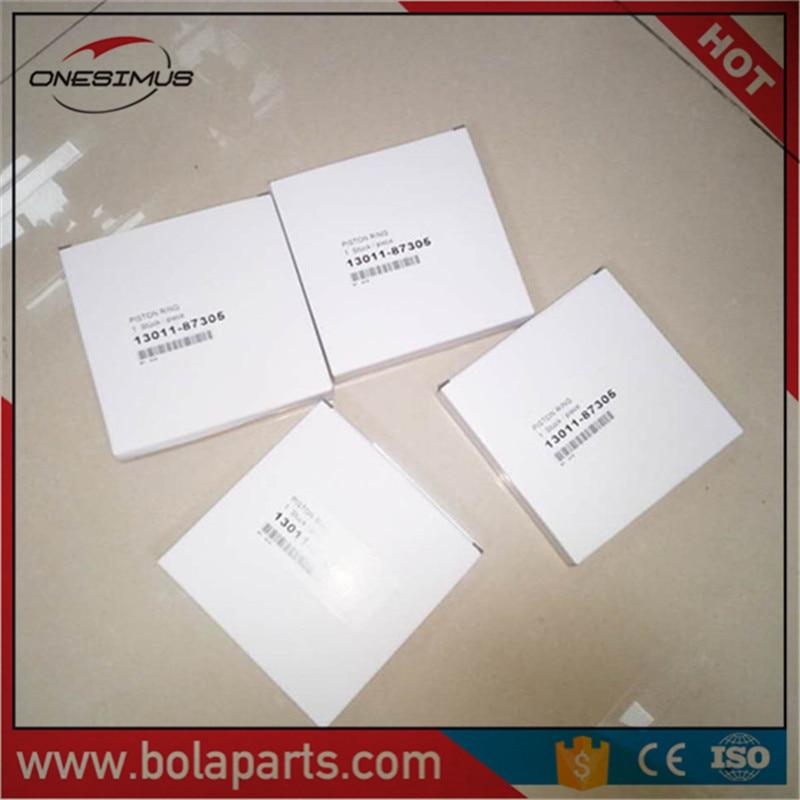 13011-87305 automobile car piston ring for DAIHATSU Delta,light Bus,V20/21/22/23/24/26 engine code DG(NEW) цена и фото