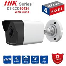 Hik Original English Bullet IP Camera DS-2CD1043G0-I 4MP CMOS 1080P Full HD Security Onvif Replace DS-2CD1041-I