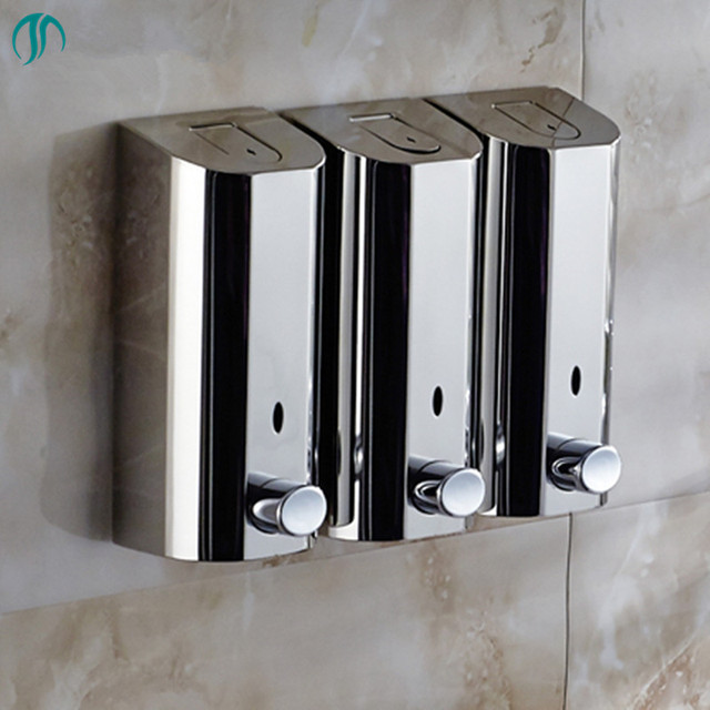 500mlx3 hand wandhalterung seife desinfizieren seifenspender d se bad hand seifenspender wand. Black Bedroom Furniture Sets. Home Design Ideas