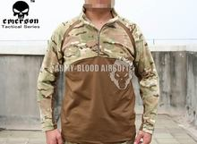 EMS MC all-terrain camouflage tactical middle warm T-shirts