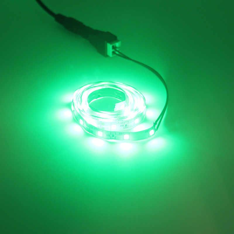 5 M Lampu LED Strip 2835SMD Tidak Tahan Air 60LED/W 12 V Merah Biru Hijau Putih Fleksibel Sumber Cahaya: