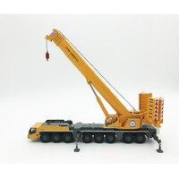 Редкий 1: 87 масштаб либхер LTM1450 8.1 внедорожный кран Инженерная техника транспортные средства литья под давлением игрушка модель для коллекци