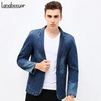 HOT 2015 New Spring Fashion Brand Men Blazer Men Trend Jeans Suits Casual Suit Jean Jacket