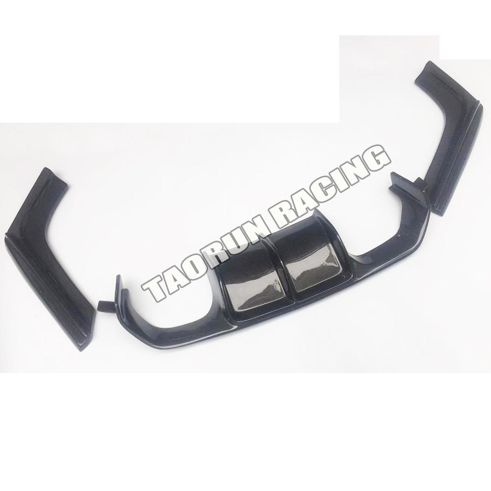 M3 M4 Spoiler difusor de pára-choques traseiro de fibra de carbono - Peças auto - Foto 4